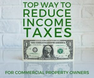 reduce income taxes for commercial property owners