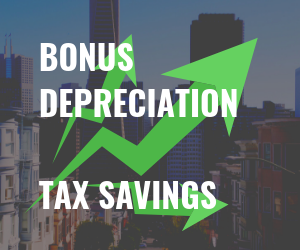 bonus depreciation equals large tax savings for commercial property owners